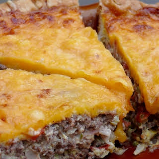 Roadside Diner Cheeseburger Quiche.