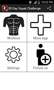 30 Day Squat Challenge - screenshot thumbnail