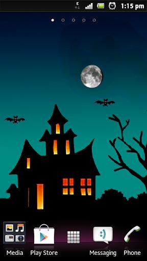Hallowen haunted wallpaper