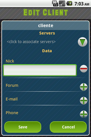 ccCamDroid - screenshot