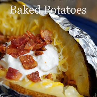 Slow Cooker Baked Potatoes