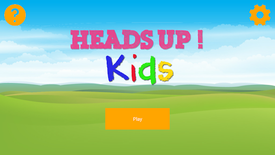 Kids' Trainer for Heads Up!- screenshot thumbnail