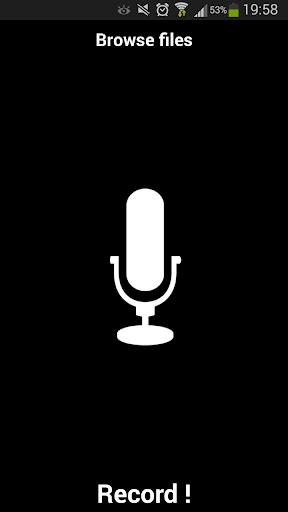 Simple Dictaphone