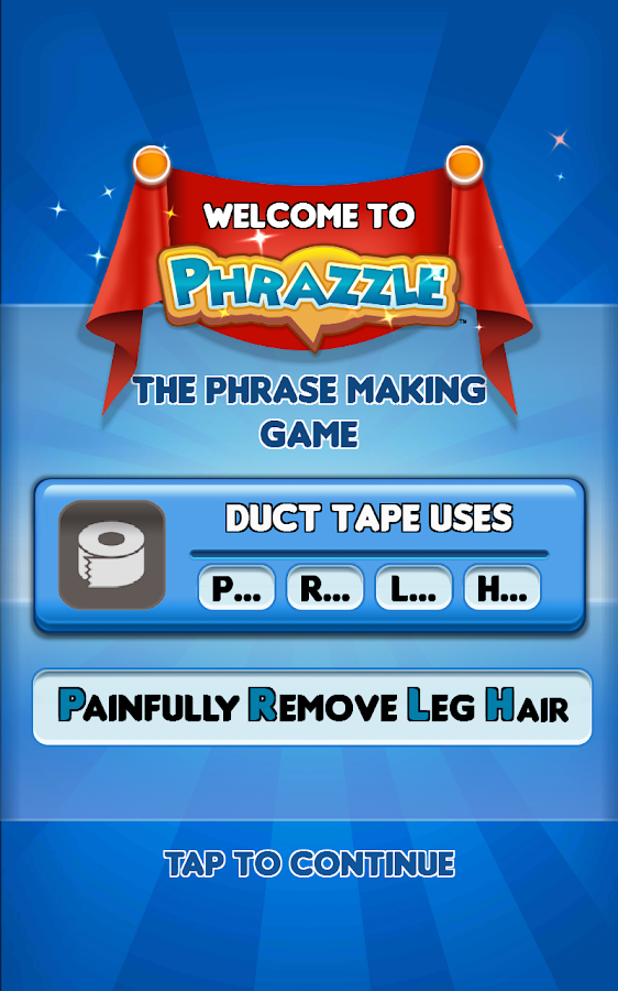 Phrazzle- screenshot