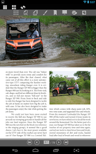 ATV&UTV ESCAPE Magazine- screenshot thumbnail