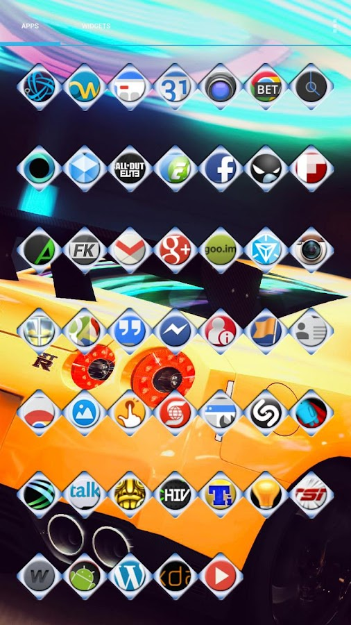 Blue Diamond Icon Pack- screenshot