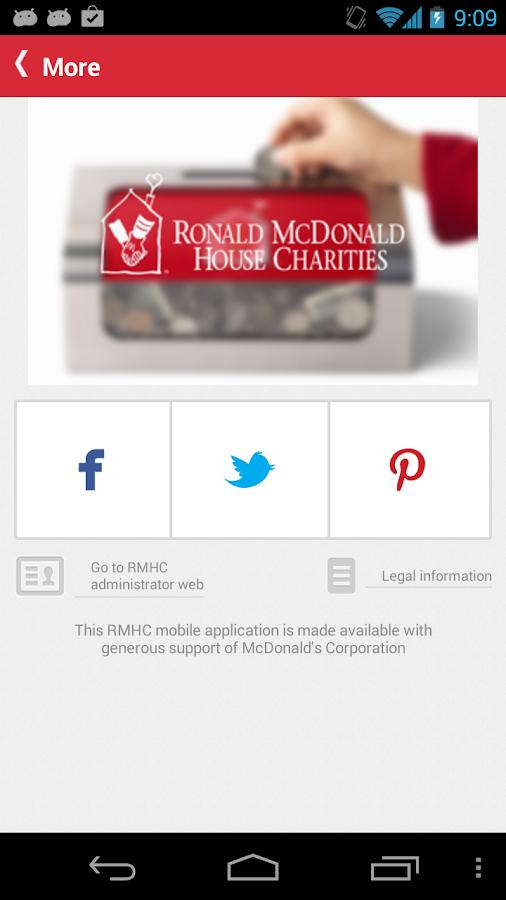 RMHC Connect - screenshot