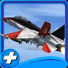 Jet Force flight simulator 3d icon