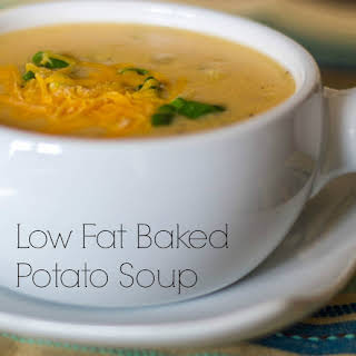Baked Potato Soup (Low Fat).