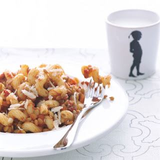 Pasta with Lentil Bolognese