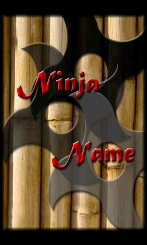 Ninja Name - screenshot