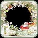 クリスマスと新年のフォトフレーム icon