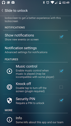 Slide to unlock - Lock screen  screenshots 7