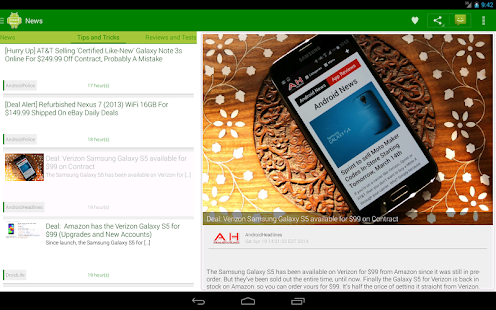 Smart Android news
