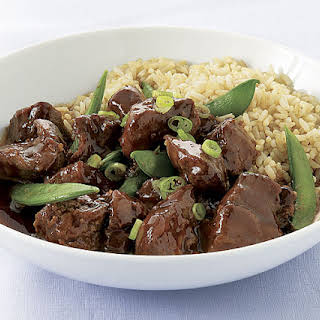 Slow-Cooker Five-Spice Pork with Snap Peas.