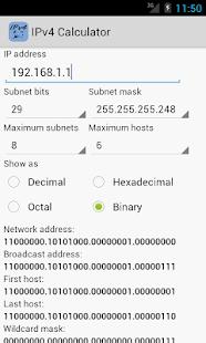 玩免費工具APP|下載IPv4 Calculator app不用錢|硬是要APP