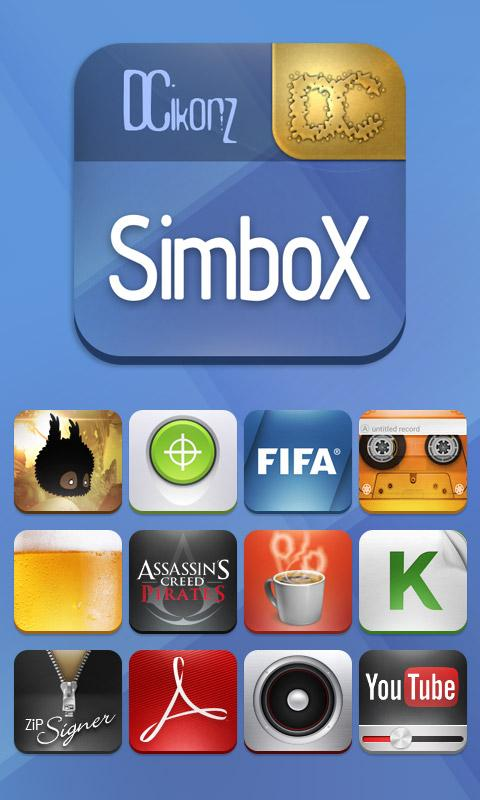 SimboX ADW Apex Nova Go Theme- screenshot