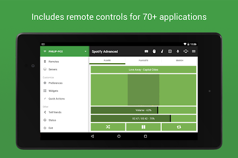 control PC with mobile phone: smartphone as a remote control for the computer (Android + iOS)