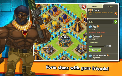 Jungle Heat: War of Clans 2.0.17 screenshots 14