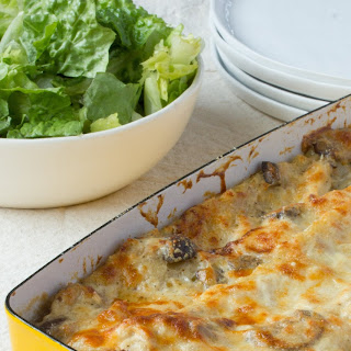Chicken and Mushroom Lasagna.