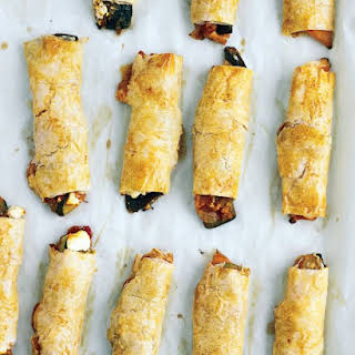 Ratatouille Phyllo Wraps.