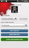 Screenshot of Prank Your Friends Scare App