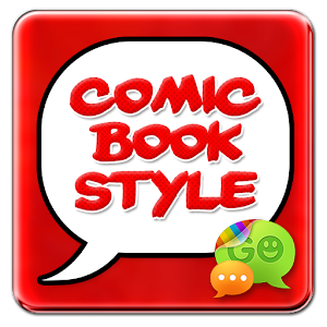 Superhero Comic Book SMS Theme icon