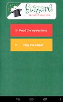 Screenshot of GUIzard Free - Magic Game