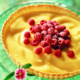 Raspberry-Lemon Tart