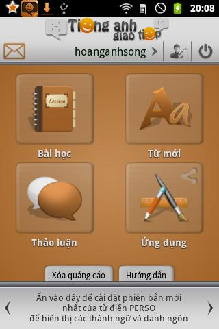 Hoc Tieng Anh Giao Tiep Free - screenshot