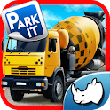 Construction Truck 3D Parking icon