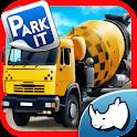 Construction Truck 3D Parking icon