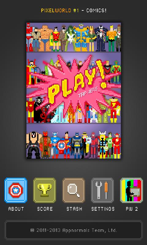 PixelWorld #1- screenshot