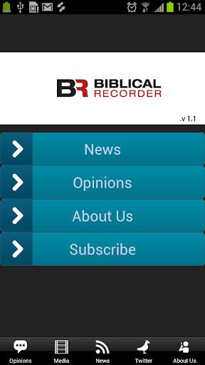 Biblical Recorder