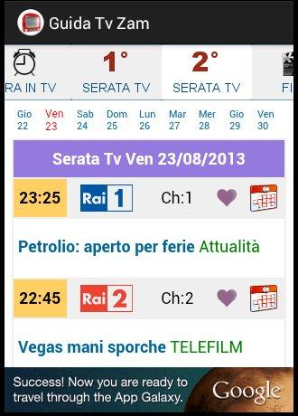 Guida Tv Gratis Zam- screenshot