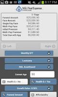 Screenshot of NGL Insurance Rate Calculator