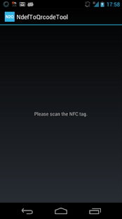 NdefToQrcodeTool- screenshot thumbnail