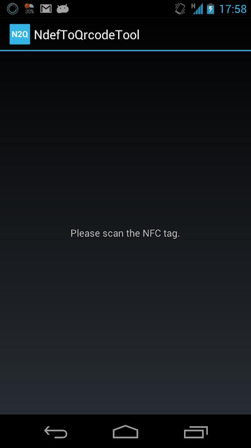 NdefToQrcodeTool- screenshot