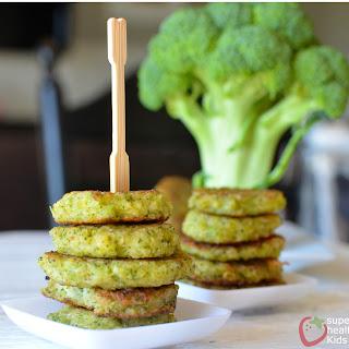 Cheesy Broccoli Bites.