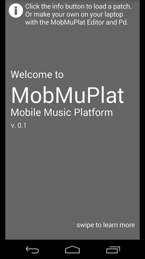 MobMuPlat- screenshot