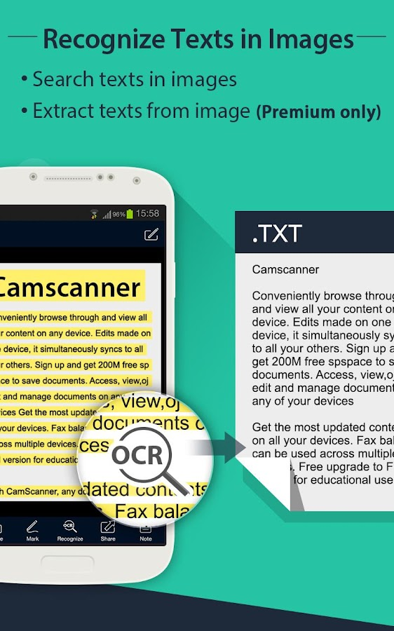 CamScanner (License) - screenshot