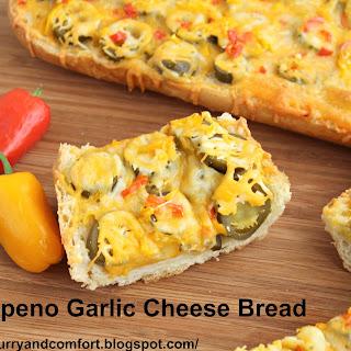 Jalapeno Garlic Cheese Bread