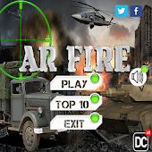 AR Fire demo game