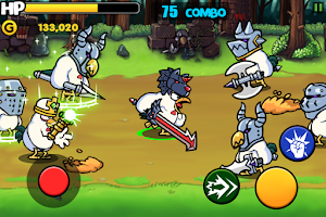 Screenshot of Chicken Revolution : Warrior