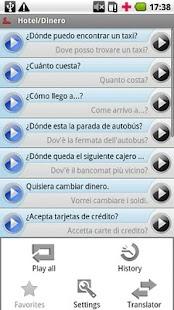 iSayHello Spanish - Italian- screenshot thumbnail