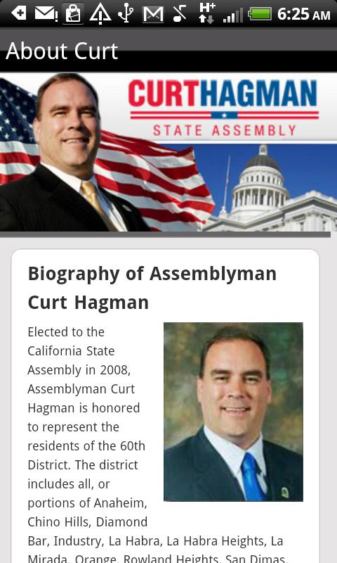 Curt Hagman for Assembly v2- screenshot