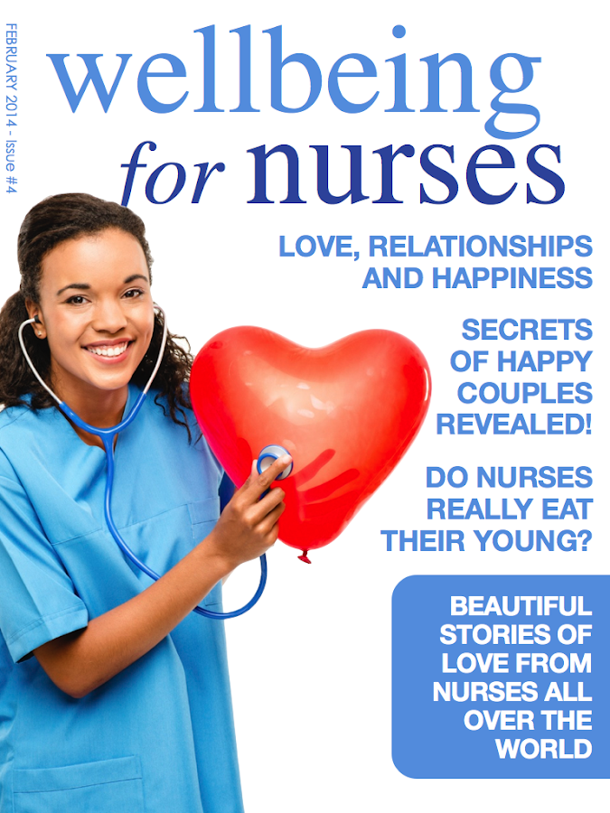 Wellbeing for Nurses Magazine- screenshot