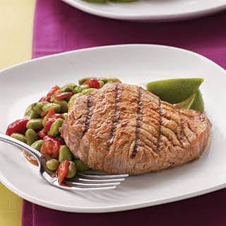 Grilled Thai-Spiced Tuna Steak.