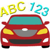 Toddler Cars: ABCs & Numbers