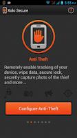Screenshot of Xolo Secure